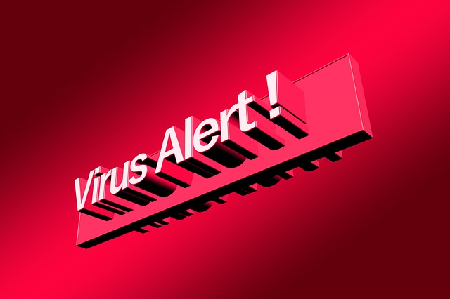 virus alarm