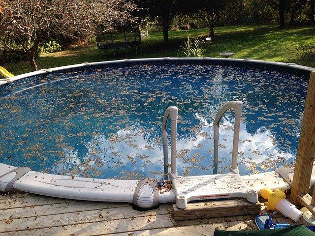 Uložte bazén k zimnímu spánku