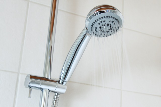 voda ze sprchy