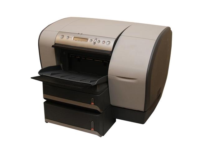 šedá robustní tiskárna
