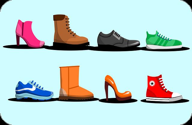 uložení obuvi